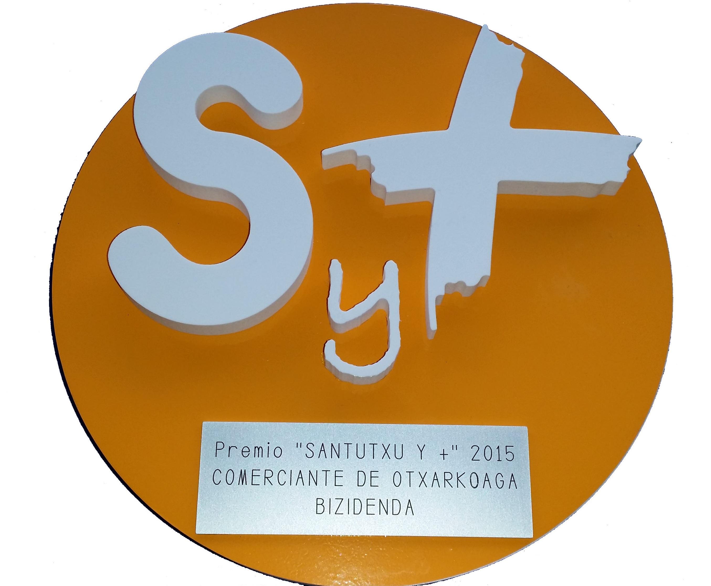 Premio ``Santutxu y +`` a Bizidenda por la labor social que hacemos en el barrio de Otxarkoaga