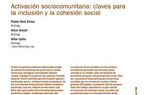 Activación sociocomunitaria: claves para la inclusión y la cohesión social