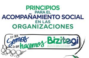 Principios para el acompañamiento social en las organizaciones. «Lo que somos lo que hacemos» Bizitegi